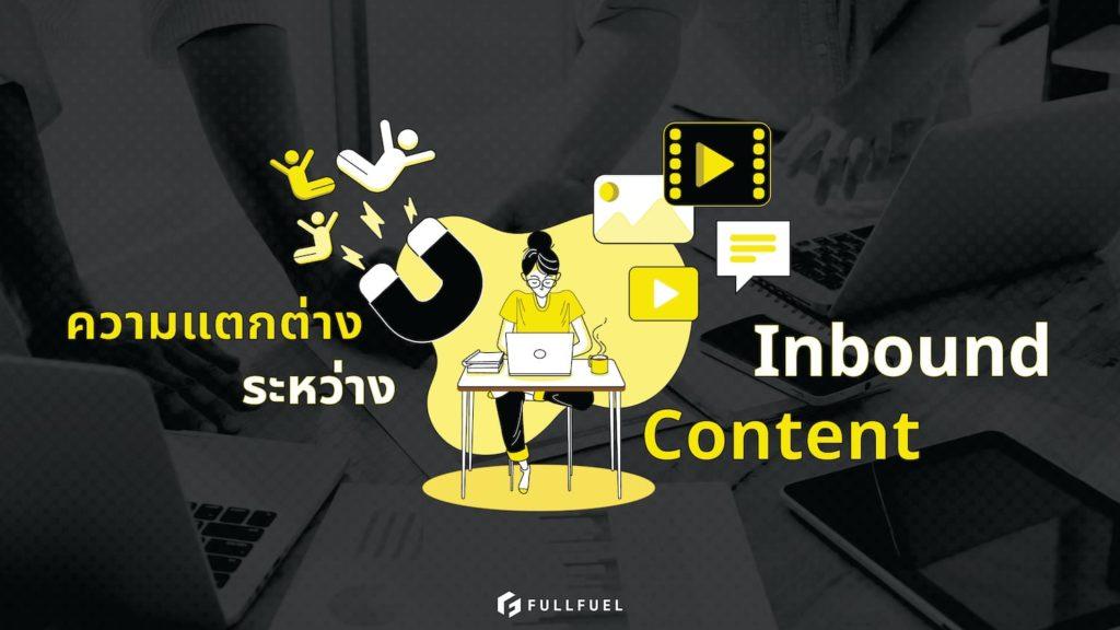 Inbound กับ Content marketing